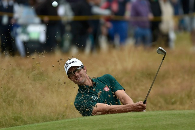Adam Scott... (Photo Toby Melville, Reuters)