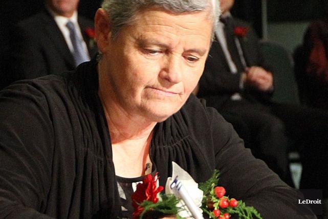 La conseillère Denise Laferrière... (Etienne Ranger, Archives LeDroit)