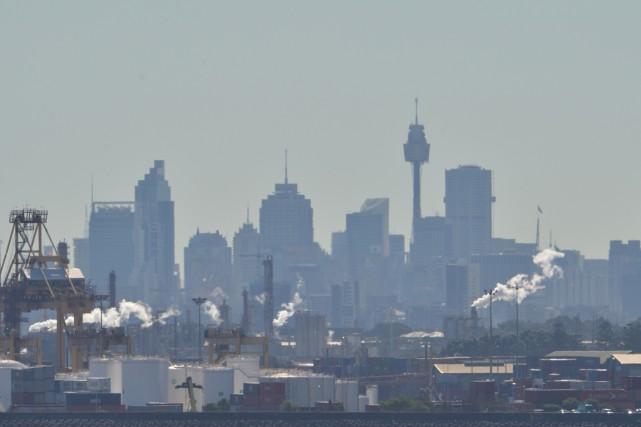 Le pays rejette environ 1,5% des émissions de... (PHOTO PETER PARKS, ARCHIVES AFP)