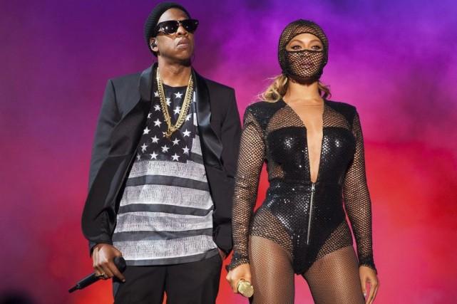 Jay Z et Beyoncé... (Photo: AP)