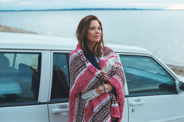 Anne Dorval dans une scène de Mommy.... (PHOTO FOURNIE PAR LES FILMS SÉVILLE)