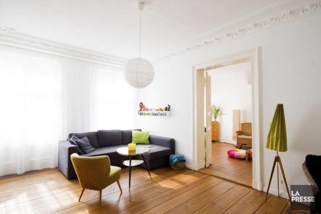Un appartement de Berlin.... (Photo fournie par Airbnb)