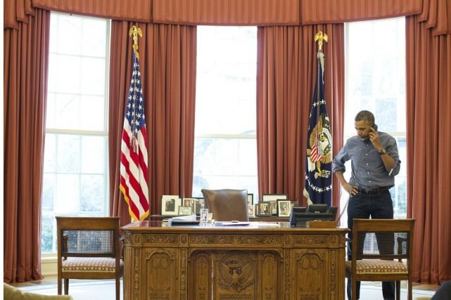 Le président des États-Unis, Barack Obama, a parlé... (PHOTO PETE SOUZA, archives LA MAISON-BLANCHE/REUTERS)
