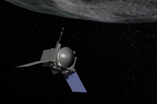 L'engin spatial devrait atteindre Bennu vers la fin... (Photo PC)