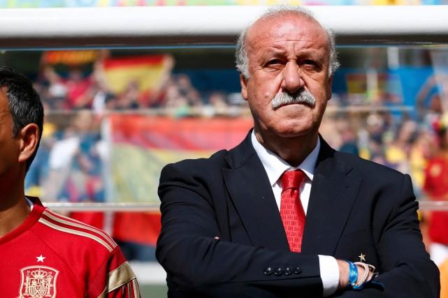 Le sélectionneur de l'équipe d'Espagne, Vicente del Bosque.... (Photo Darren Staples, Reuters)