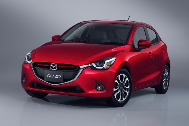 La Mazda Demio (Mazda2 japonaise) donne un avant-goût... (Photo fournie par Mazda)