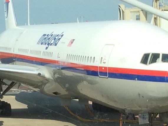 «S'il devait disparaître, voilà à quoi il ressemble» : juste avant le décollage... (Photo tirée de Facebook)