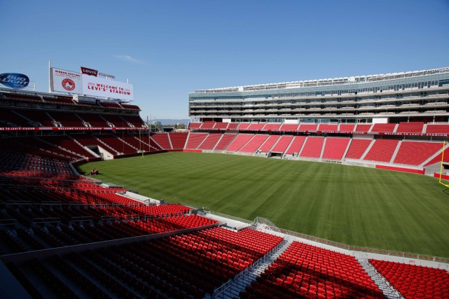Le nouveau stade des 49ers de San Francisco... (Photo Kelley L Cox-USA TODAY Sports)