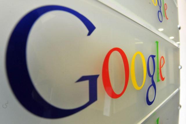 Google a notamment vu grimper de 25% les... (PHOTO ARCHIVES AFP)