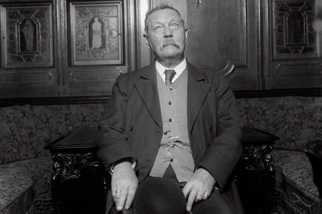 Sir Arthur Conan Doyle, créateur de Sherlock Holmes.... (Photo: archives AP)