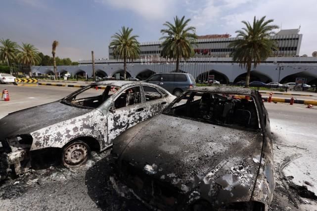 Aux désordres, aux attentats, aux actes terroristes qui... (Photo Mahmud Turkia, Agence France-Presse)