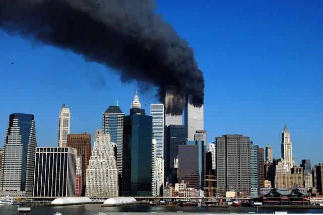 Les attentats du 11 septembre 2001 ont causé... (PHOOT HENNY RAY ABRAMS, ARCHIVES AGENCE-FRANCE-PRESSE)