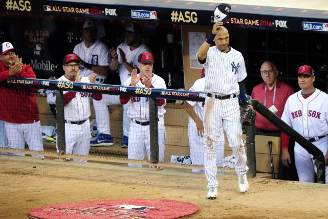 Derek Jeter, lors du match des étoiles... (Photo USA Today Sports)
