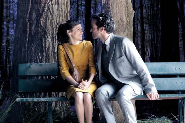 Audrey Tautou et Romain Duris dans l'Écume des... (Media Films)
