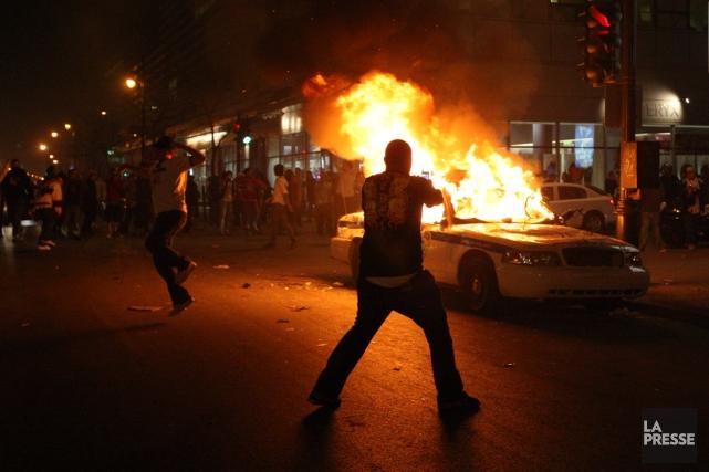 Le soir du 21 avril 2008, le Canadien... (PHOTO MARTIN CHAMBERLAND, ARCHIVES LA PRESSE)