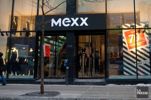 Mexx possède 90 magasins au Canada et emploie... (PHOTO ANDRÉ PICHETTE, LA PRESSE)
