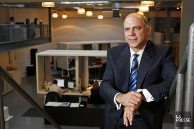 Pierre Fitzgibbon, PDG sortant d'AtriumInnovations.... (Photo: Robert Mailloux, La Presse)