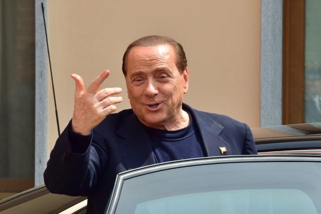 L'ex-premier ministre italien Silvio Berlusconi.... (PHOTO GIUSEPPE CACACE, ARCHIVES AFP)