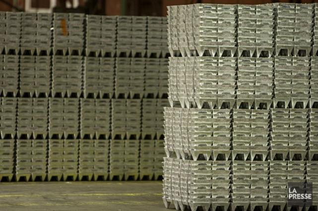 Le zinc a atteint lundi un nouveau plus... (Photo François Roy, La Presse)