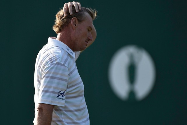 Ernie Els... (Photo Toby Melville, Reuters)