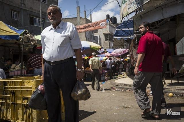 Les gens de Gaza ont profité du cessez-le-feu... (PHOTO OLIVIER PONTBRIAND, LA PRESSE)