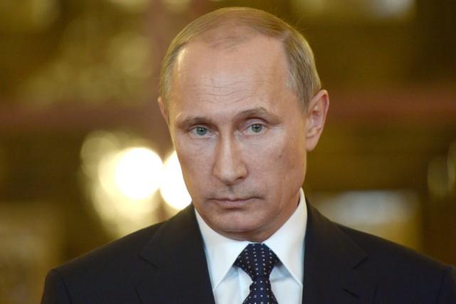 Le président russe Vladimir Poutine.... (PHOTO ALEXEI NIKOLSKY, ARCHIVES AFP)