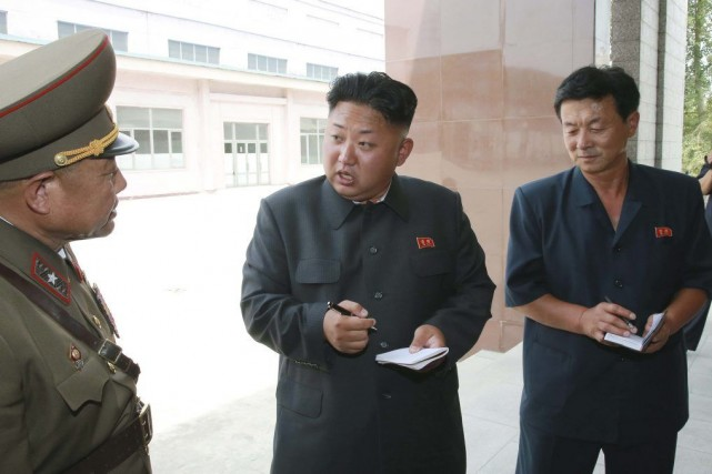 Le leader nord-coréen Kim Jong-un.... (PHOTO REUTERS/KCNA)