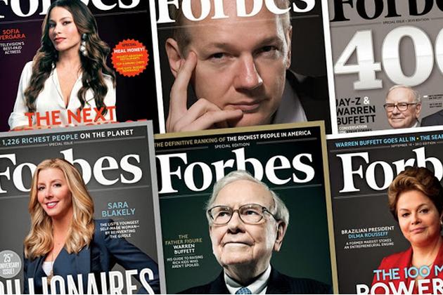 Forbesavait été fondé en 1917 par le journaliste... (Photo Google Plus)