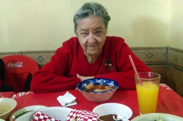 La fondatrice et directrice du foyer pour jeunes... (PHOTO MONSERRAT VERDUZCO, ARCHIVES AFP)