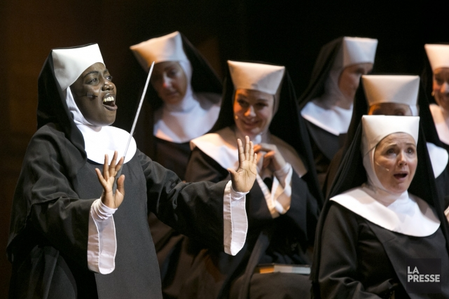 La comédie musicale Sister Act.... (PHOTO HUGO-SÉBASTIEN AUBERT, ARCHIVES LA PRESSE)