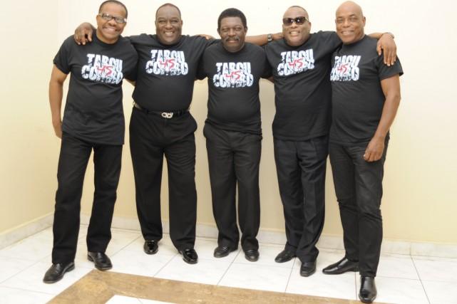 Les membres du groupe Tabou Combo se souviennent... (Photo: fournie par le Festival Nuits d'Afrique)