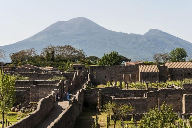 Pompéi, ensevelie sous les cendres par l'éruption du... (Photo Digital/Thinkstock)