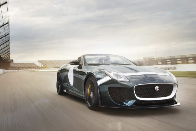 La Jaguar F-type Project 7... (Photo fournie par Jaguar)