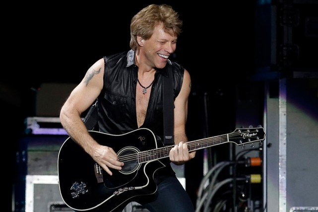 John Bon Jovi... (Photo: archives AFP)