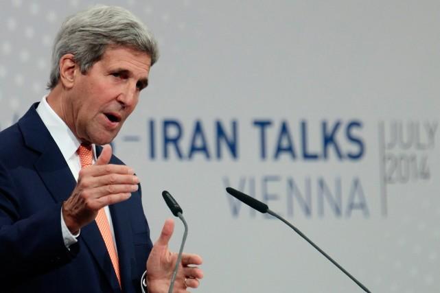 Le secrétaire d'État américain John Kerry a prévenu... (Photo Heinz-Peter Bader, archives Reuters)