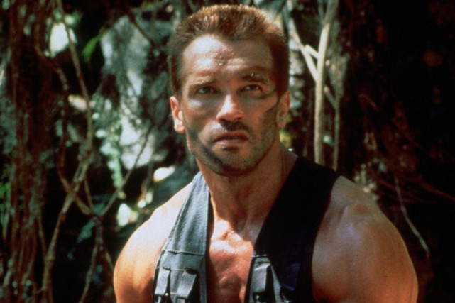 Arnold Schwarzenegger dans Predator.... (Photo Twentieth Century Fox Film Corporation)