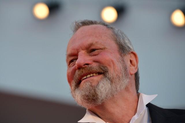 Terry Gilliam à son arrivée à la projection... (PHOTO GABRIEL BOUYS, ARCHIVES AFP)