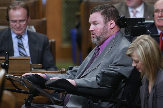 Le député fédéral conservateur Steven Fletcher a le... (Photo Blair Gable, archives Reuters)