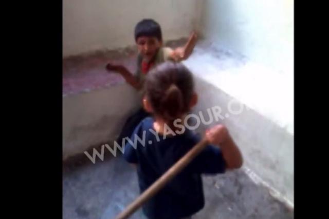 «Lorsque j'ai vu cette vidéo honteuse, pour la... (Image tirée de la vidéo)