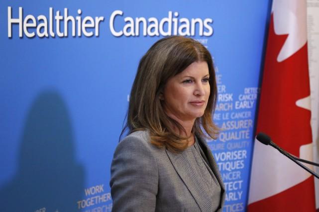 La ministre fédérale de la Santé, Rona Ambrose... (Photo PATRICK DOYLE, PC)
