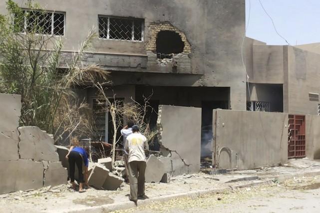 L'État islamique (EI), qui s'est emparé de pans entiers du territoire irakien,... (Photo REUTERS)