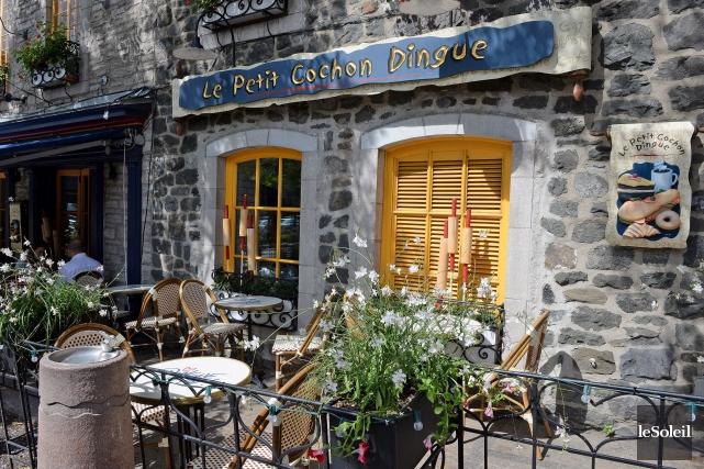 Le Petit Cochonfermera ses portes le 28 mars.... (Photo Le Soleil, Erick Labbé)