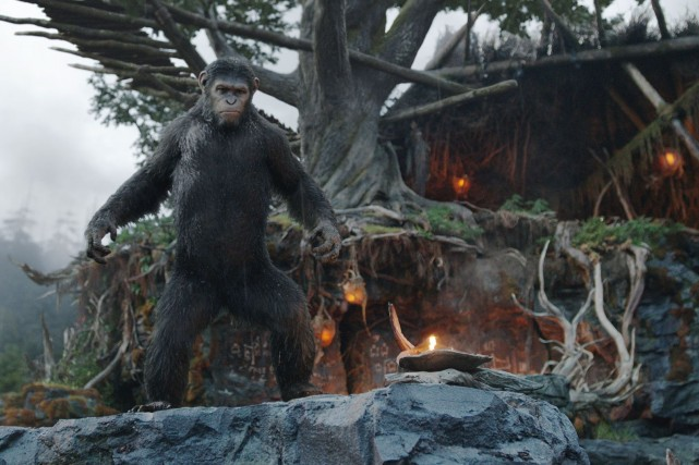Dawn of the Planet of the Apes a... (Photo fournie par Media Films)