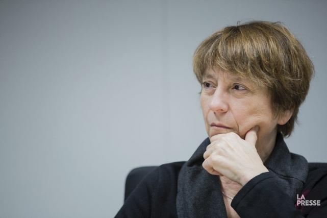Françoise David a jugé que c'était une «bonne... (PHOTO EDOUARD PLANTE-FRÉCHETTE, ARCHIVES LA PRESSE)