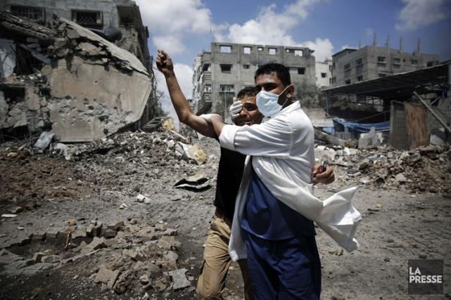 Le pilonnage sanglant de la ville de Chajaya,... (Photo: Reuters)