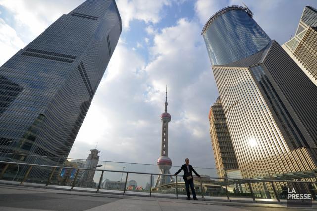 Le rebond de la Chine est surtout le... (PHOTO PETER PARKS, AGENCE FRANCE-PRESSE)