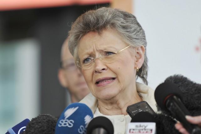 Françoise Barre-Sinoussi, prix Nobel de médecine pour avoir... (PHOTO ESTHER LIM, ARCHIVES AFP)