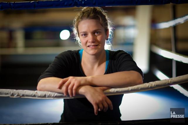 La boxeuse Ariane Fortin sera l'une des deux... (Photo André Pichette, archives La Presse)