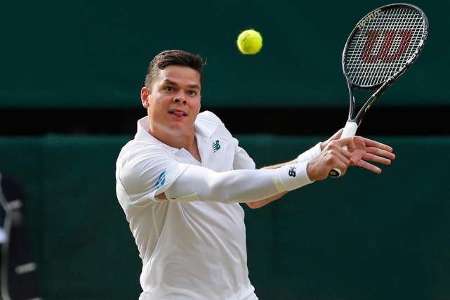 Milos Raonic... (Photo Ben Curtis, archives AP)