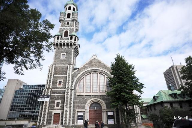 L'église Saint-Coeur-de-Marie... (Photothèque Le Soleil)